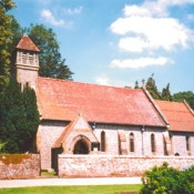 Hinton Ampner church