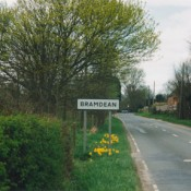 Bramdean Village Sign